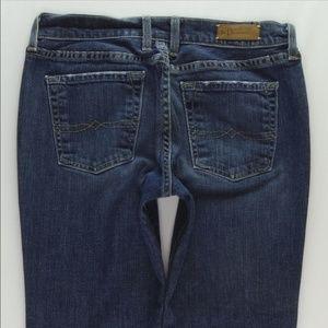 Lucky Classic Rider Crop Jeans Women's 6/28 #JD01